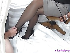 Pantyhose hot clips - porn moms