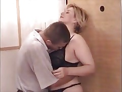 Old and Young hot tube - mature wife sex