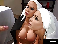 Nun sex clips - wife sex videos
